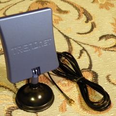 Подставка под WiFi антенну (с антенной)